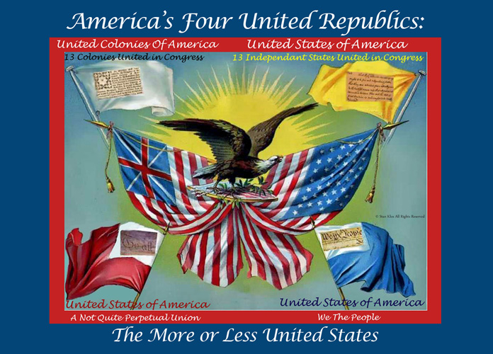 "Webb County Heritage Foundation Announces an Unprecedented Exhibition: ""America's Four Republics: The More or Less United States ©""."
