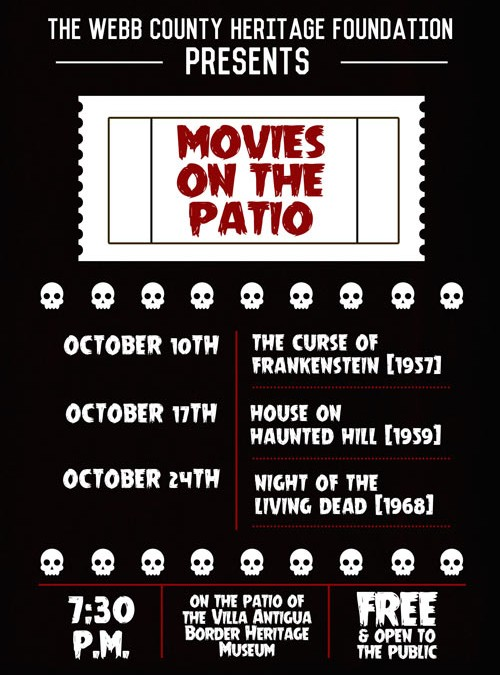 """Movies on the Patio "" To Feature Series of Classic Horror Movies"