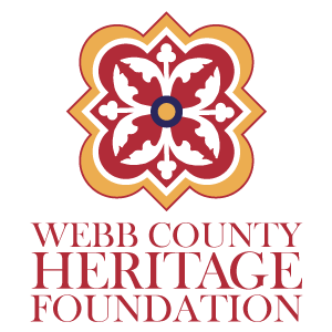 The Webb County Heritage Foundation Vertical Logo
