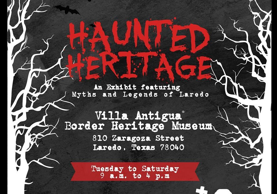 "October Means ""Haunted Heritage"" on Exhibit"