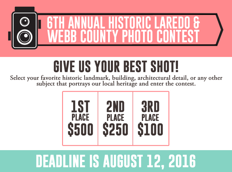6th Annual Historic Laredo & Webb County Photo Contest