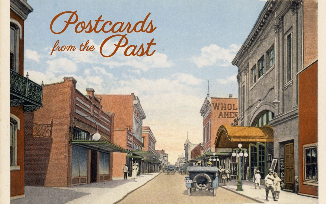 Postcards From The Past Invitation
