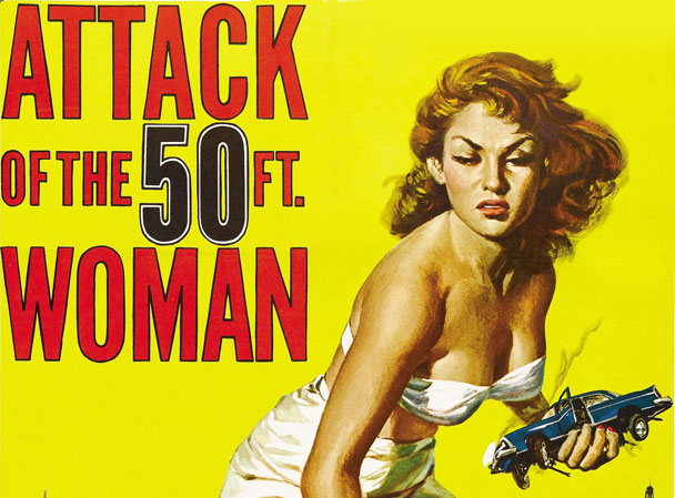 "Final Feature in ""Movies on the Patio"" Series Features ""Attack of the 50-Foot Woman"""