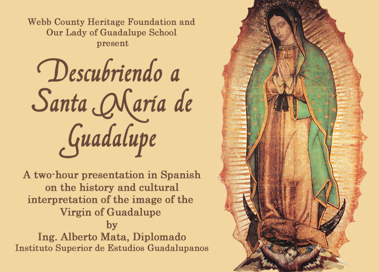 Border Heritage Museum to Host Lecture on Historical Background of the Virgin of Guadalupe