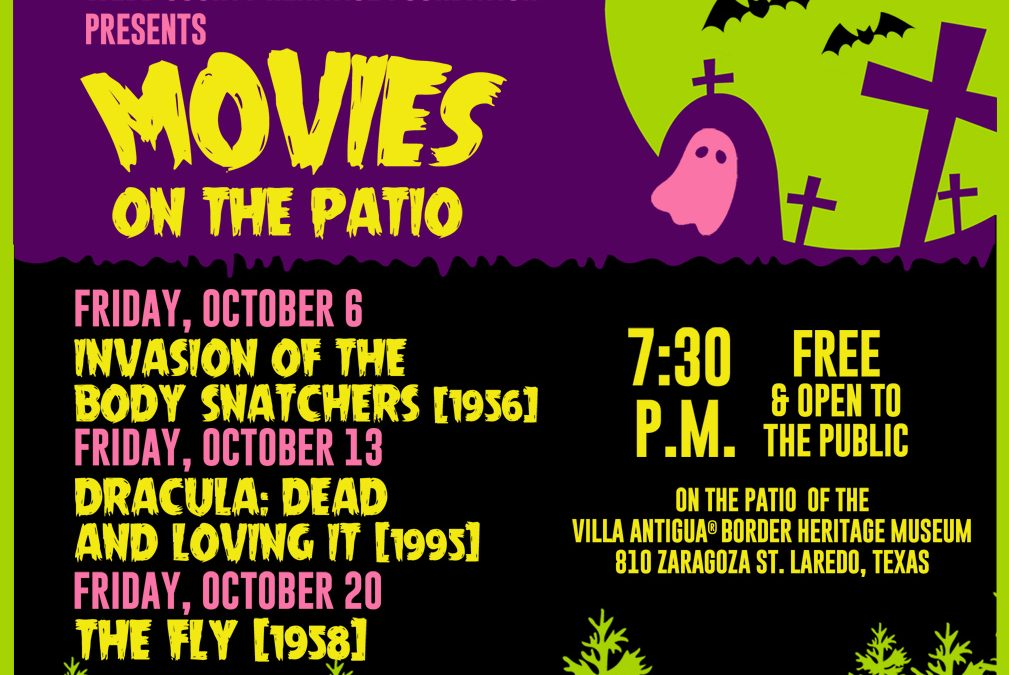 """Movies on the Patio"" to Feature  Series of Classics Horror Movies"