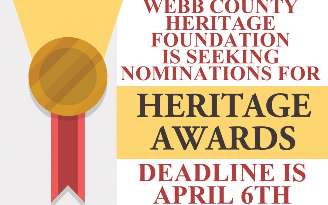 Nominations Requested for Heritage Awards 2018