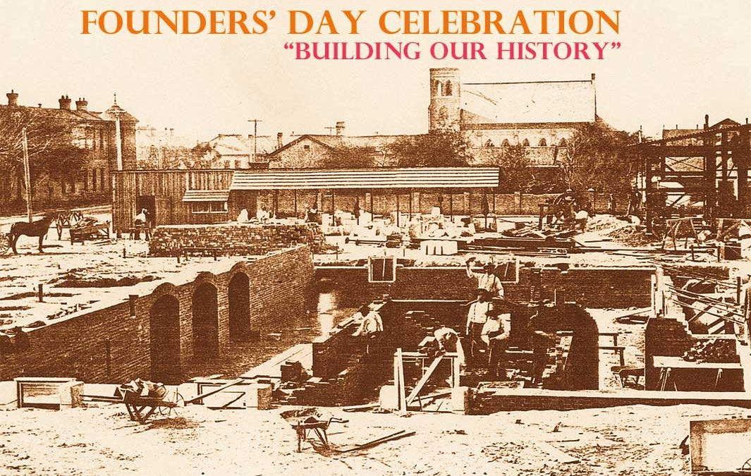 "2018 Founders' Day Celebration to  Focus on ""Building Our History"""