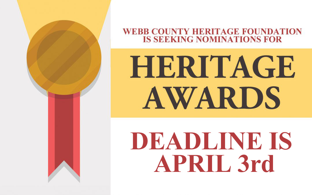 Nominations Requested for Heritage Awards 2020