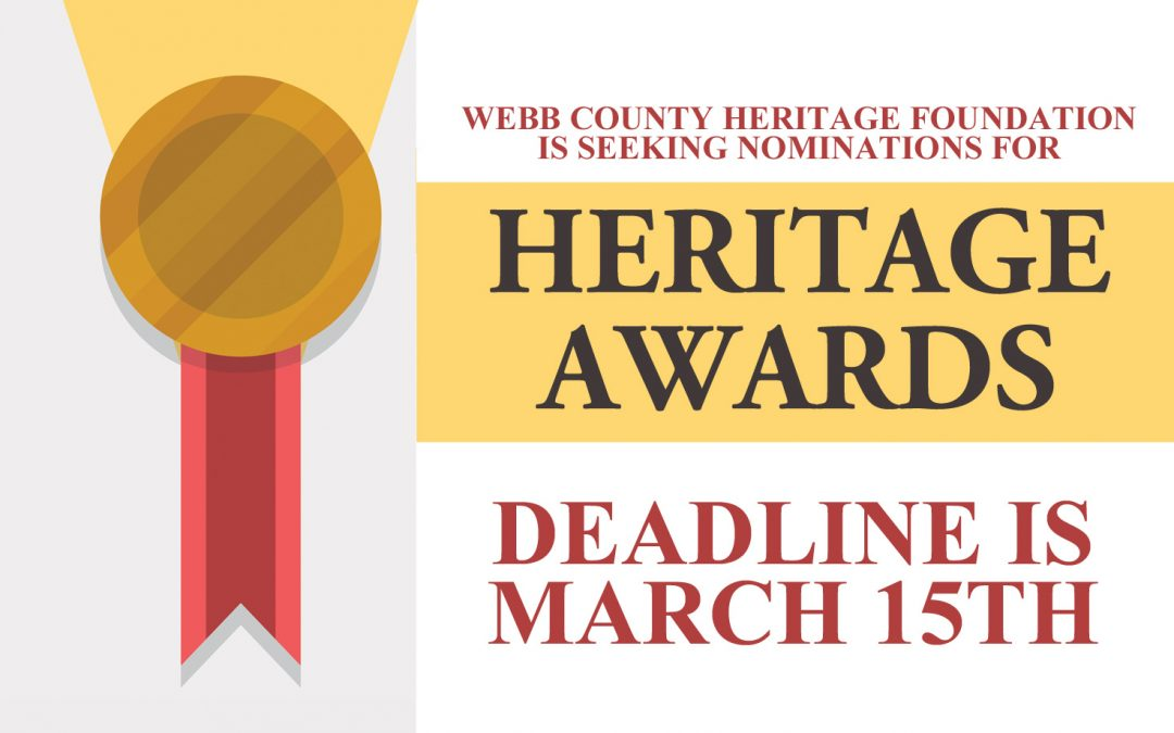 Nominations Requested for Heritage Awards 2019