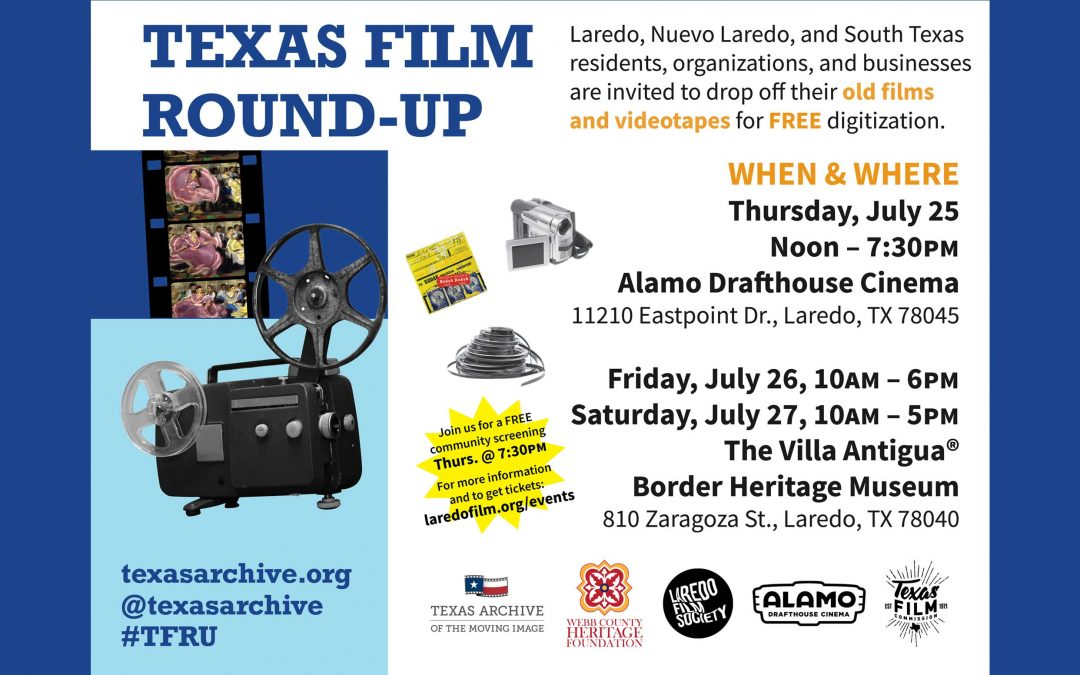 The Texas Archive of the Moving Image Travels to Laredo with its Award-Winning Film Preservation Program